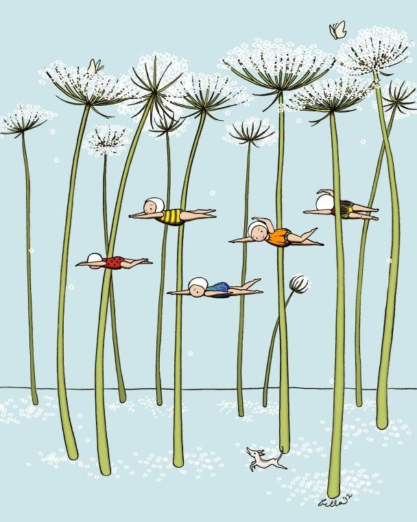 Bella Sinclair Doodlespot: Illustration Friday: Tree