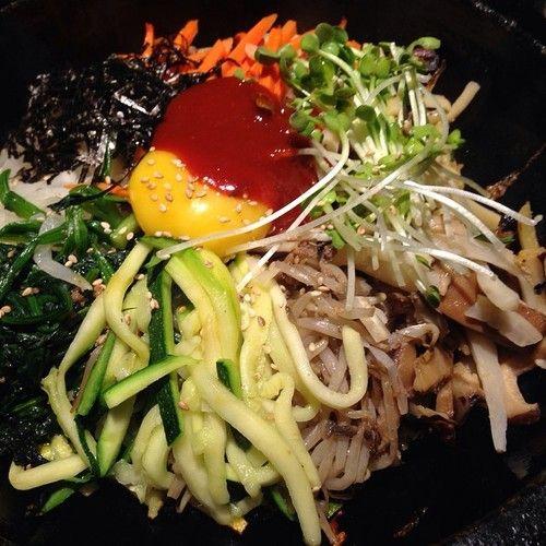 And #my #favorite #vegetarian #BibimBap at #GenwaKoreanBBQ #loveatfirstbite #icravethis #ilikeithot #spicy #ricedish #food #foodie #foodpic #foodlove #sogood #sohappy #sotasty #koreanbbq #koreanfood #nomnom #ieatwell #instafood #inspiration #wantsome #beverlyhills #losangeles #restaurants #bestlife (at Genwa Korean BBQ - Beverly Hills)