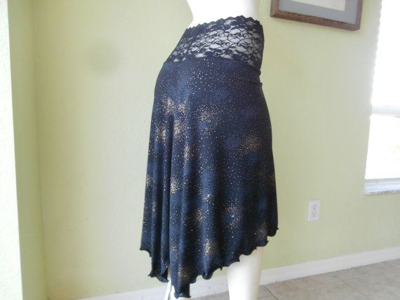 Argentine Tango Cascade  Skirt Size 0 to 16 high by COCOsDANCEWEAR