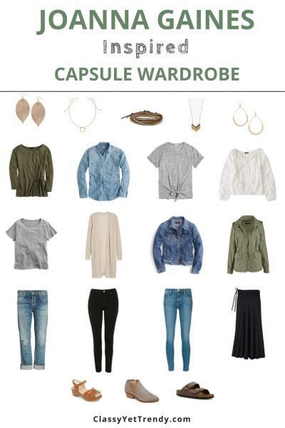 Joanna Gaines Inspired Capsule Wardrobe: 10 Outfit Ideas 2