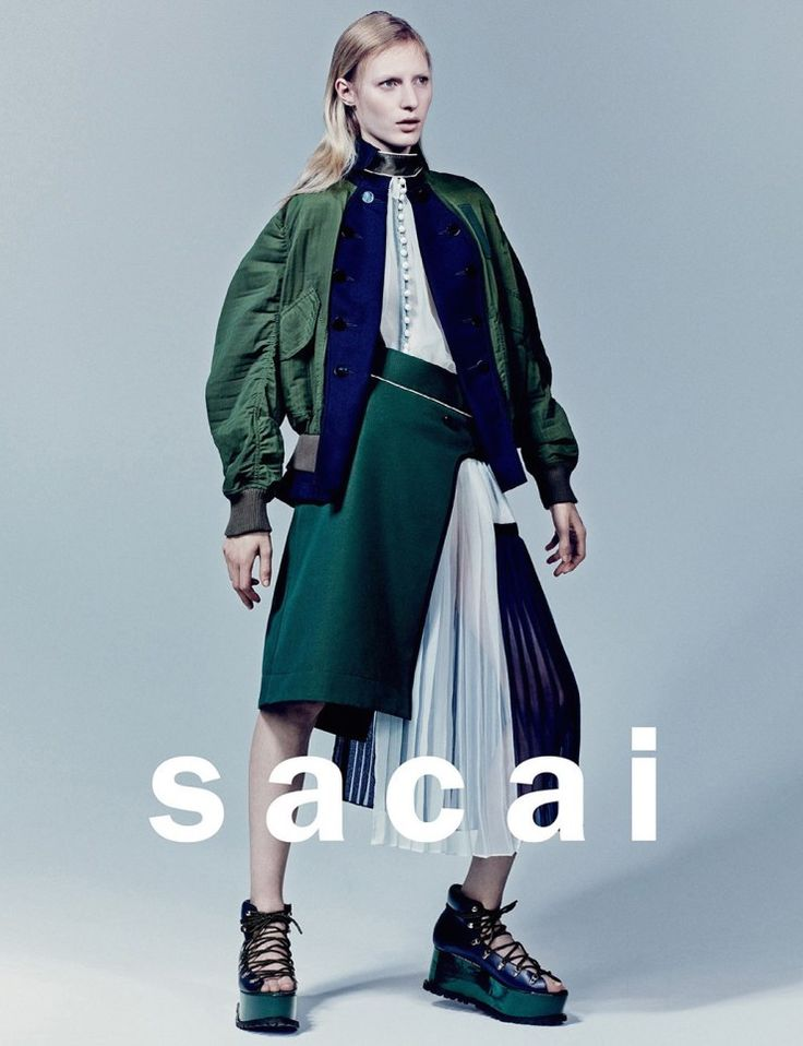 Julia Nobis by Craig McDean for Sacai Spring Summer 2015 6
