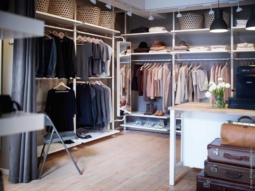 Ordning och reda med STOLMEN klädförvaringssystem.