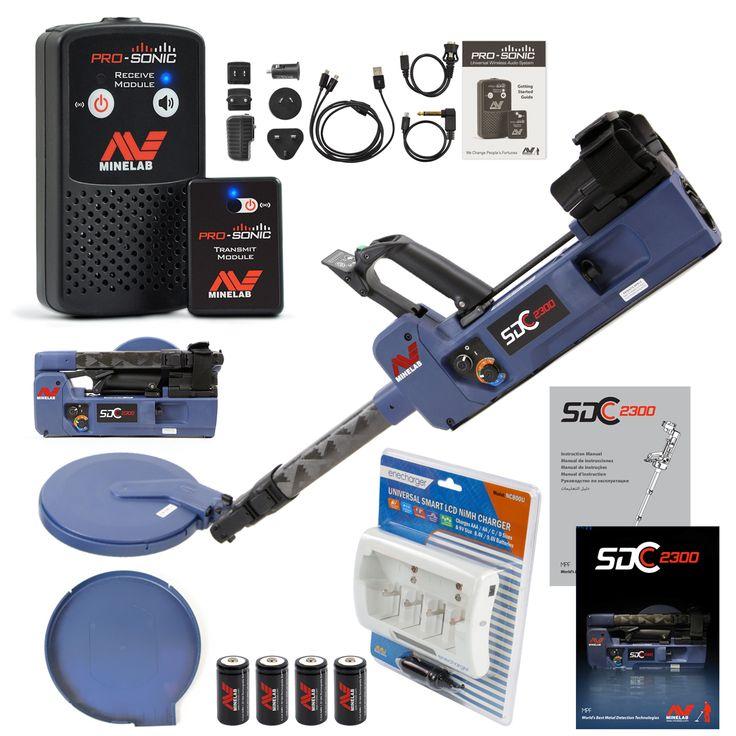 Minelab SDC 2300 Metal Detector with PROSONIC Wireless