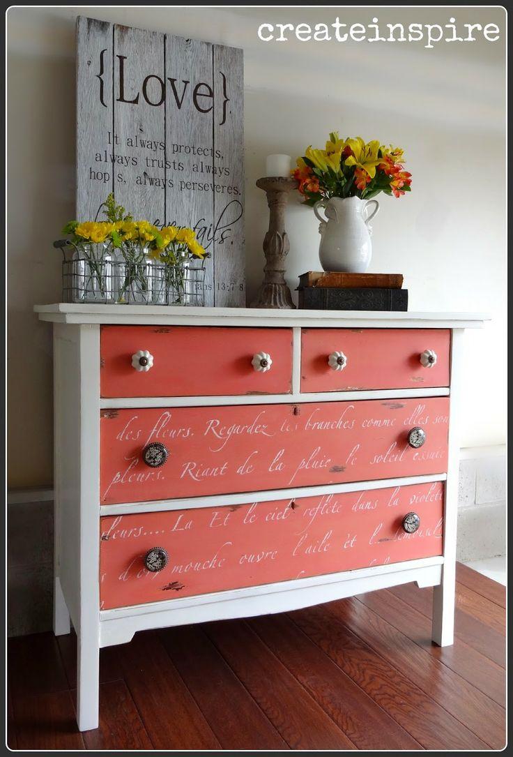 Painted Furniture Ideas best 25+ oak dresser ideas on pinterest | black painted dressers
