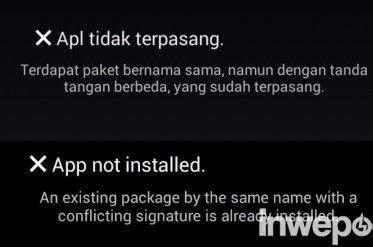 Cara Disable Signature dan Mengatasi Apk yang Tidak Bisa Terinstall
