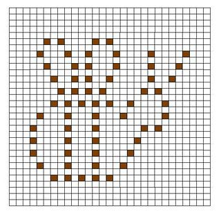 Crochet Nub Stitch : ... Perler bead patterns, Christmas cross stitches and Filet crochet
