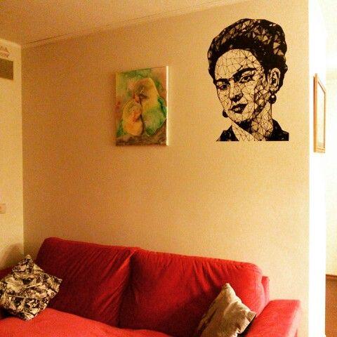 Vinilo decorativo Frida kahlo