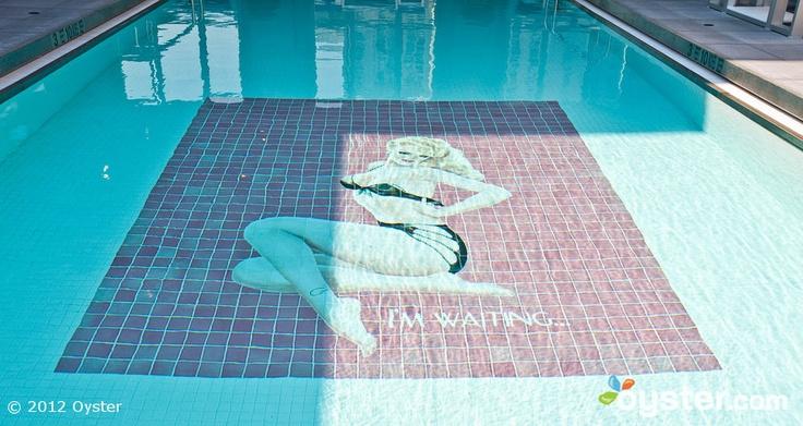 Pool at the Ganesvoort Hotel, Nyc