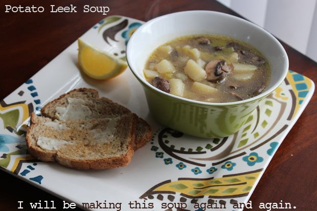 potato leek soup | Food:Soups, Salads, Sandwiches | Pinterest