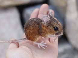 Image result for needle felted mouse tutorial