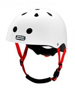 UrbanWinner-cykelhjelme-white-rubber
