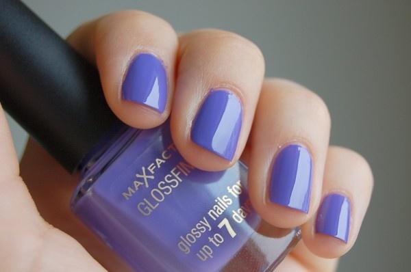 Max Factor Glossfinity - 130 Lilac Lace #nailpolish