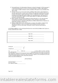 Free CONTRACT FOR DEED Printable Real Estate Forms