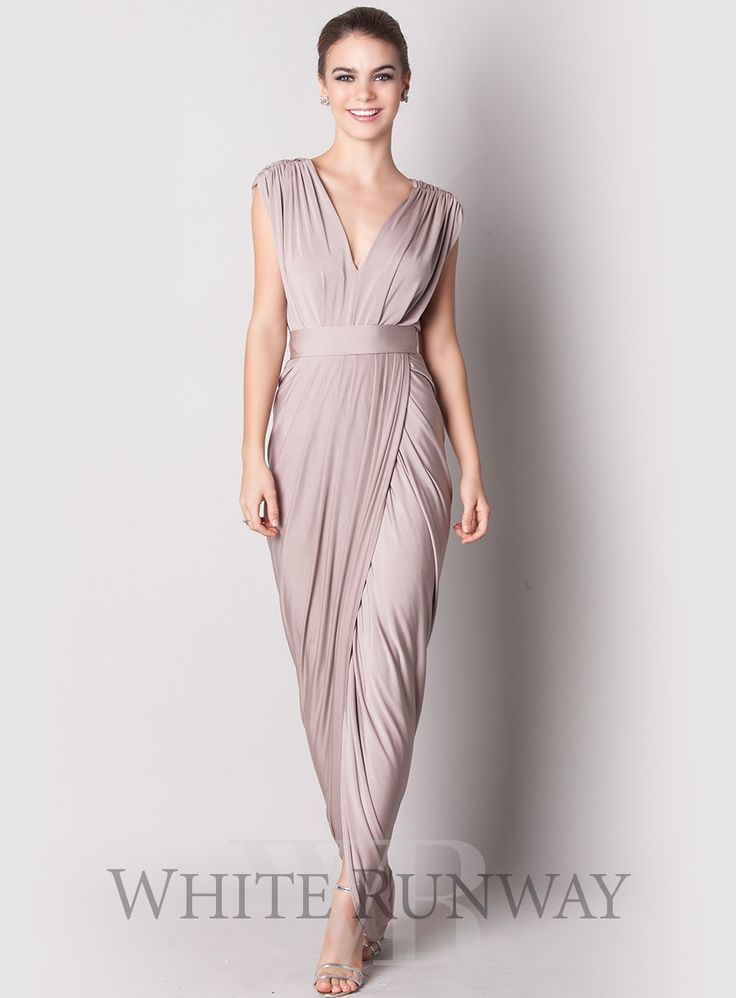 Can be customised to almost any colour in huge range of shades!  Carla Dress By Pia Gladys Perey - White Runway