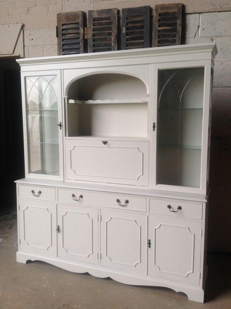 Large Glazed Yew Dresser Bookcase By VRevival On Etsy · Vintage FurnitureCupboardBookcasesShelvingDressersKids  ...