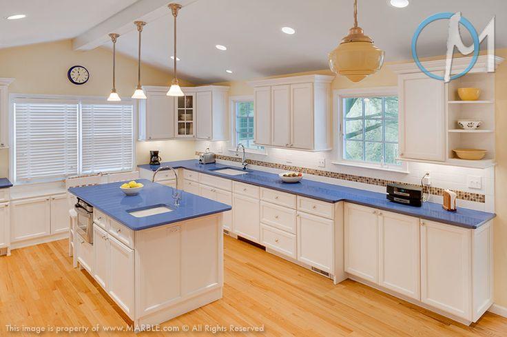 Kitchen Island With Ironwood Counter