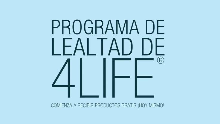 Inscríbete en el Programa de LEALTAD de 4Life ¡hoy mismo!