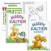 Personalized Easter Coloring Activity Book