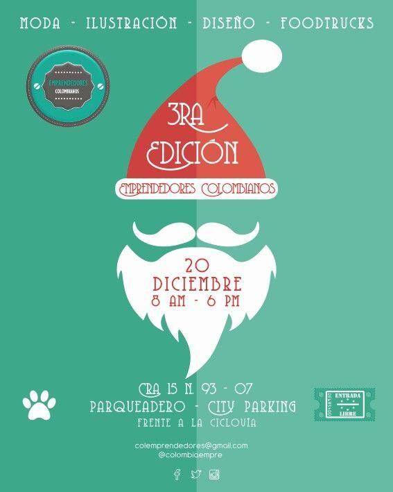 Emprendedores Colombianos - tercera edición! :)