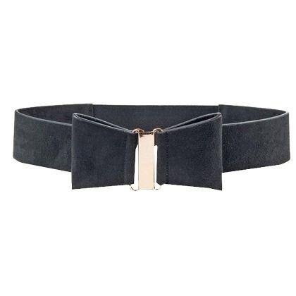 Sympa cette jolie ceinture avec son petit noeud! Idéale pour ceinturer la robe que vous porterez lors de votre dîner en amoureux! Dès 24,99€. Ici: http://stylefru.it/s934259 #ceinture #noeud #robe #saintvalentin