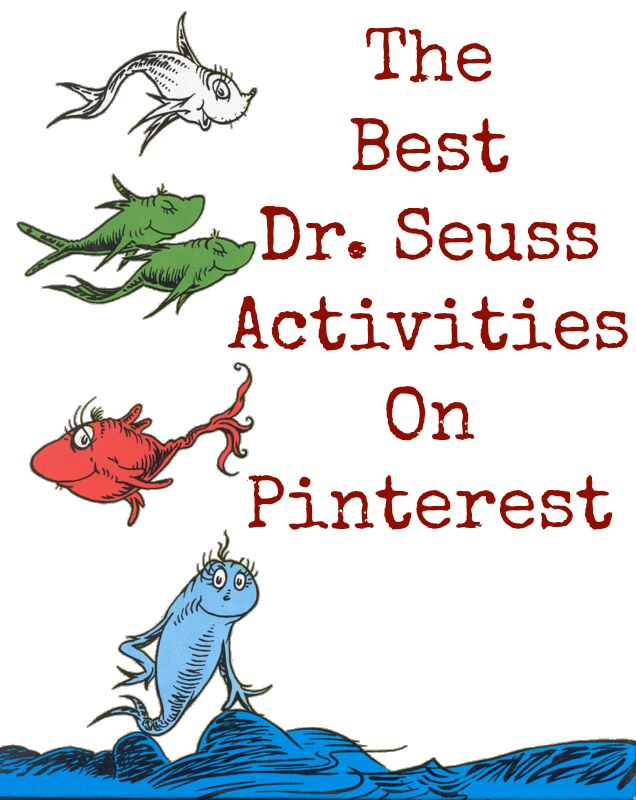 Some of the Best Things in Life are Mistakes: Dr. Seuss Activities