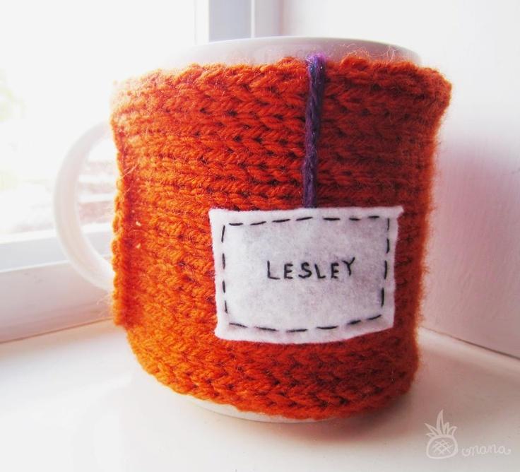 "Onana Snug Mug Cozy || ""Lesley"""