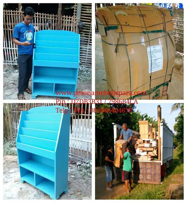 Rak buku anak pintar pesanan Bu Afan #Cilangkap #jakartatimur malam ini dikirim dari #jepara. Semoga barangnya aman sampai tujuan. Aamiin... Silahkan yg ingin pesan.. Rak buku unik yg di desain khusus untuk menstimulasi anak supaya gemar membaca. Warna bisa menyesuaikan. Bahan MDF. Langsung dari pengrajin..  #rak #rakbuku #rakbukuanak #rakbukuanakpintar #anakpintar #pesonamebeljeparagroup #pesonamebeljepara #pesonamebel #pesonajepara #jeparamebel #pesonajeparamebel #mebelpesona…