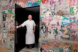 Head chef Germán Martitegui, Tegui Restaurant, Palermo, Buenos Aires, Argentina