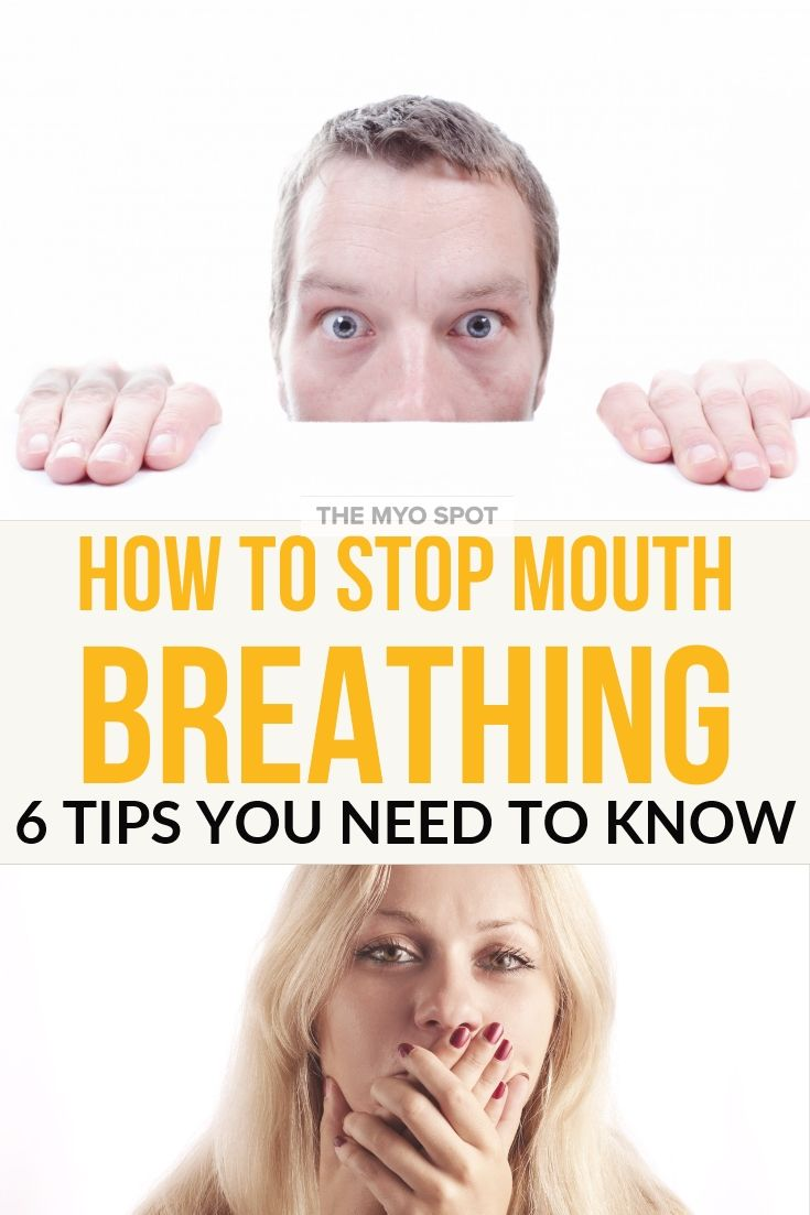 How to Stop Mouth Breathing Myofunctional therapy