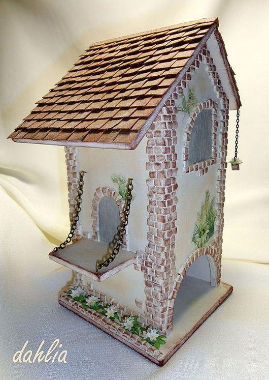 """Кухня ручной работы. Ярмарка Мастеров - ручная работа. Купить Чайный домик """"Что нам стоит, дом построить..."""". Handmade."""