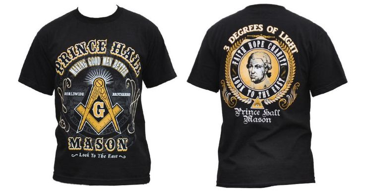 $21.65 PRINCE HALL Masonic Freemason short sleeve T-shirt SRHINER MASON FRATERNITY TEE