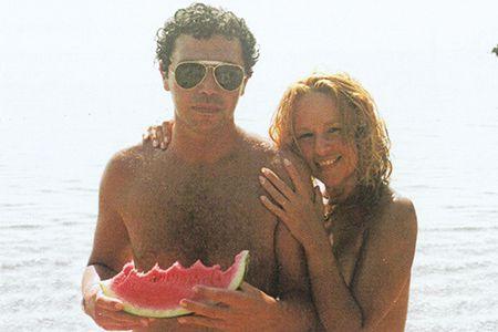Καλοκαιρινές στιγμές με τον Ηλιάδη στην παραλία