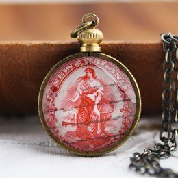 New Zealand Stamp Jewellery | Flame Red