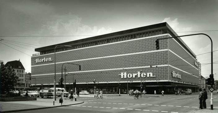 """""""Hortenkachel"""" - Horten Kaufhaus Krefeld - Egon Eiermann"""