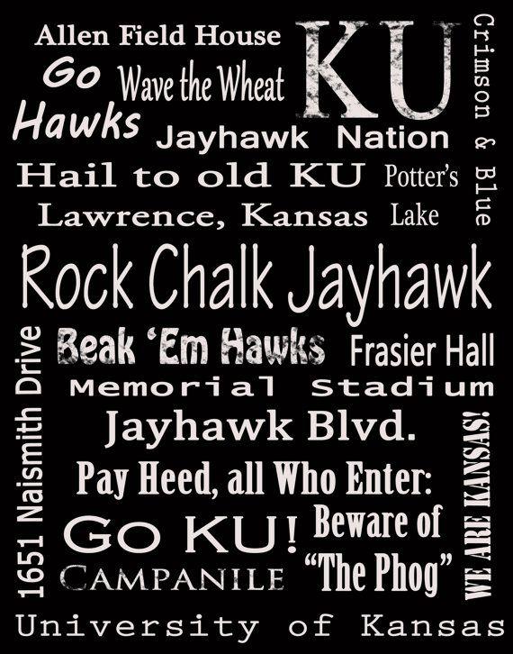 Rock Chalk Jayhawk!