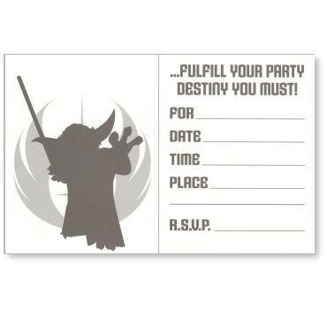 Gudu Ngiseng Blog Star Wars Birthday Invite