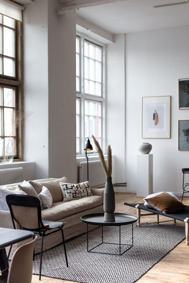 My Scandinavian Home Studio Online Interior Design Service Now Live A Tour Of The Studio In A Converted Factory My Scandinavian Home Scandinavian Design Living Room Interior Design Scandinavian Interior Design