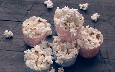 Popcorn, Webers grillopskrifter