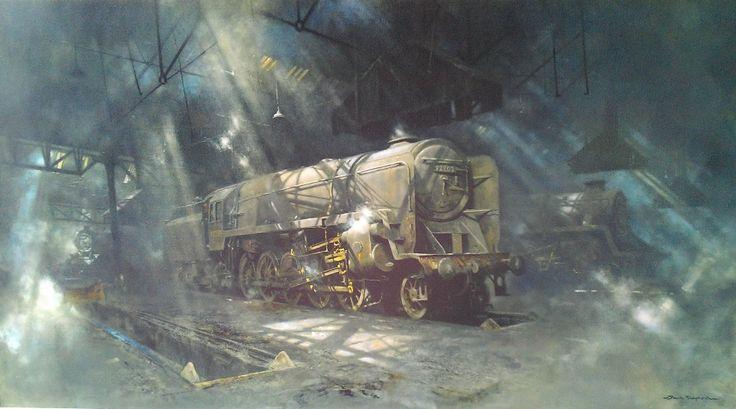 Railway Art Gallery: David Shepherd