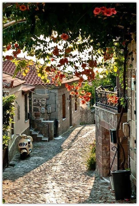 ~Molyvos, Lesbos Island, Greece~