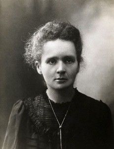 Marie Curie  Letter from A. Einstein: If the rabble continues to occupy itself with you, then simply don't read that hogwash, but rather leave it to the reptile for whom it has been fabricated.