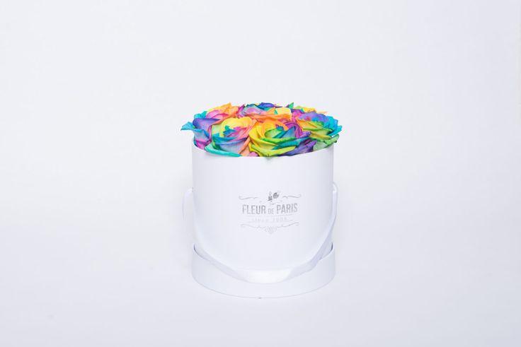 A Rosa Arco-íris – Fleur de Paris