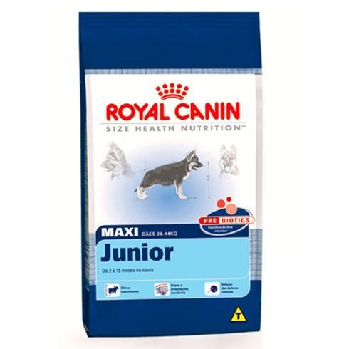 Maxi junior royal canin - um excelente inicio de alimentação para cães de grande porte - PetLove