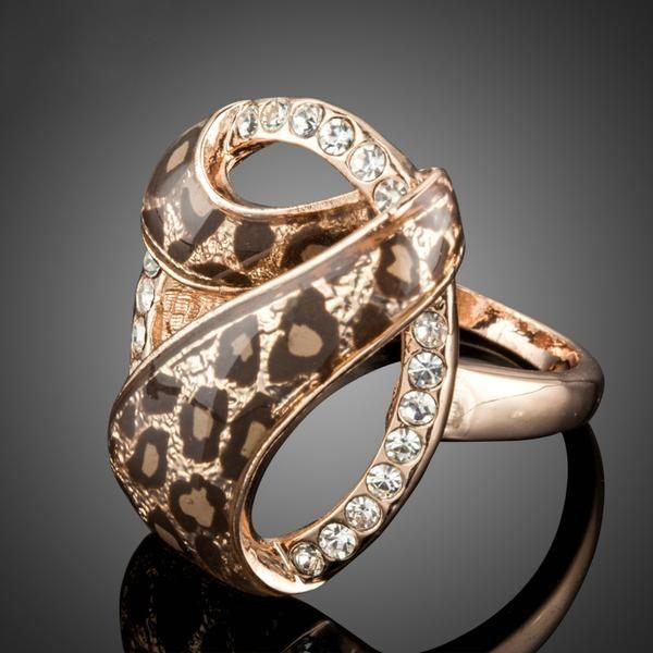 Safari Leopard Ring