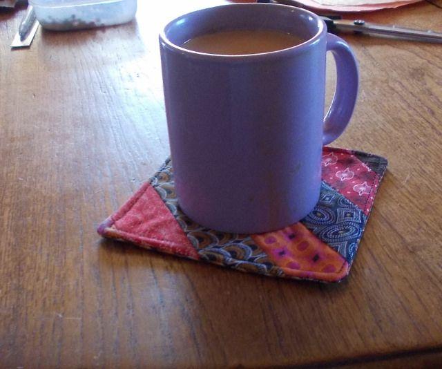 Patchwork Coaster | Flickr - Photo Sharing!