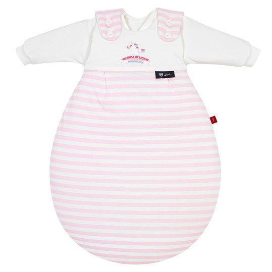 Baby Schlafsack mit niedlichem Einhorn 🦄 Baby Mäxchen von Alvi - Das original Schlafsack-System mit einem süßen Einhorn Design von s.Oliver.