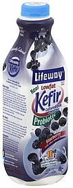 Lifeway Kefir Cultured Milk Smoothie - Blueberry... one of my newest favorites!! good all by itself or in a smoothie :)