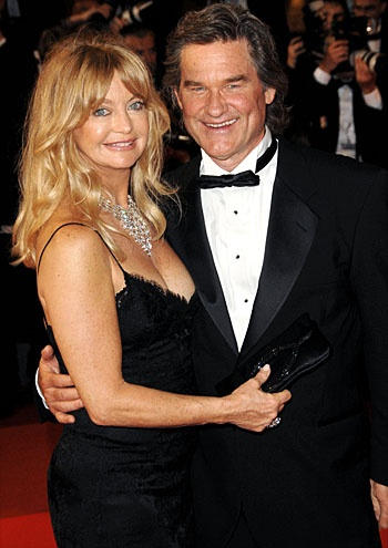 GOLDIE HAWN & KURT RUSSELL. If it ain't broke, don't fix it, right? Hawn and Russell have been together since 1983 and have a son, but he's never put a ring on it. And that's just fine with her.