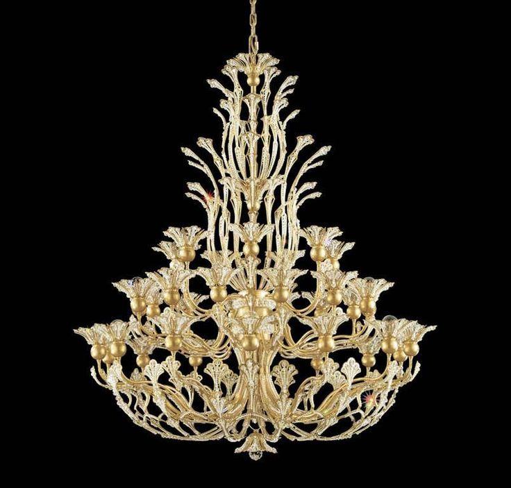 49 best lumire images on pinterest crystal chandeliers crystal image schonbek vintage crystal chandelier aloadofball Images