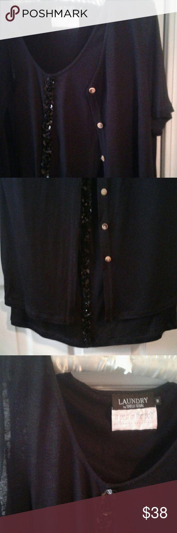 Top 25 best maternity sequin dresses ideas on pinterest shelli segal laundry maternity dress sz m ombrellifo Gallery